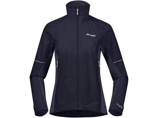Bergans Slingsby LT Softshell Jacket Dam dark navy/white